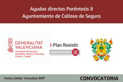 Ayudas Económicas Covid 19 - Ayuntamiento de Callosa de Segura