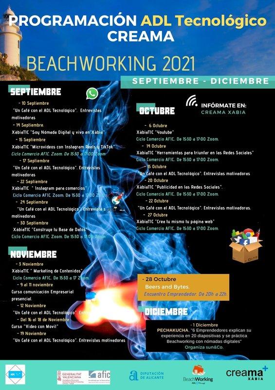 programacion beachworking