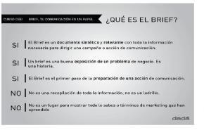 El Brief, la llave de la comunicación