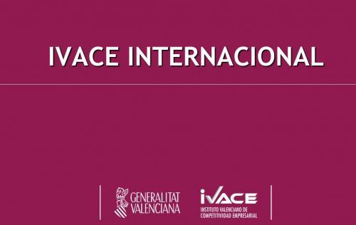 Apoyos de IVACE a la Internacionalización de la empresa valenciana