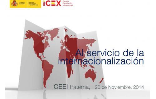 Servicios ICEX para la Internacionalización de empresas