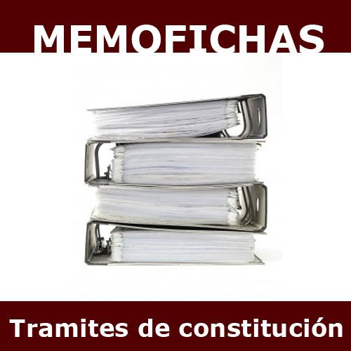 TRAMITES Memofichas