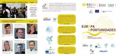 Europa Oportunidades (tríptico informativo)