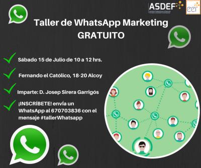 Taller de WhatsApp Marketing GRATUITO