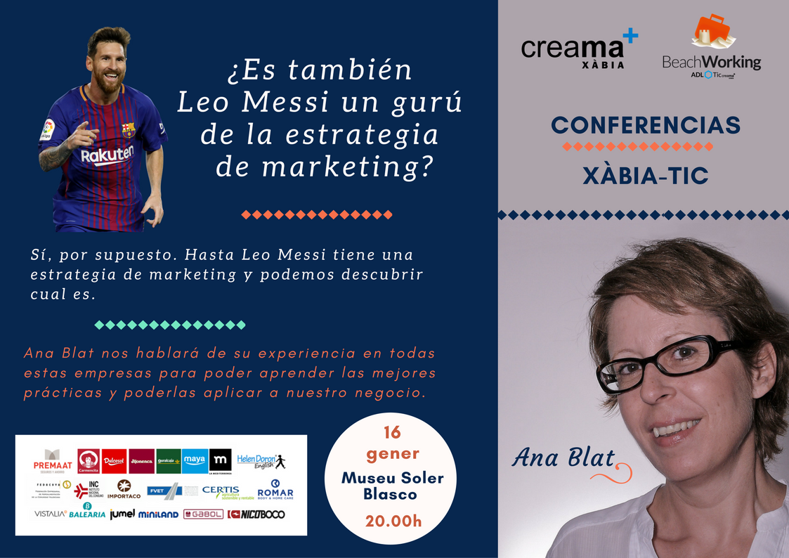 conferencia Marketing con Leo Messi