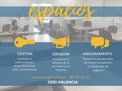 Anuncio Espacios CEEI Valencia