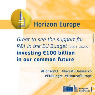 Horizonte Europa . Programa marco de investigación e innovación
