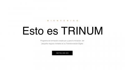 Libreto del programaTRINUM