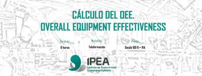Cálculo del OEE. Overall Equipment Effectiveness.