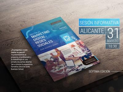 Sesión informativa - Máster en Marketing Digital Alicante