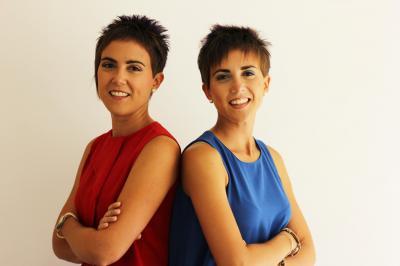 Laura y Ana Bilbao, fundadoras de Nuttralia
