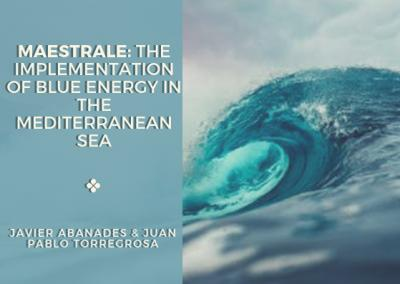 MAESTRALE: The Implementation of Blue Energy in the Mediterranean Sea