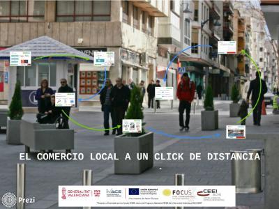 El comercio local a un click de distancia