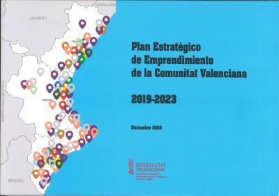 Portada Plan Estratégico Emprendimiento CV 2019-2023