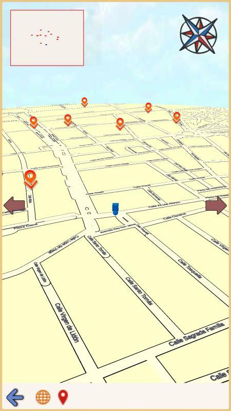 Guia interactiva mapa