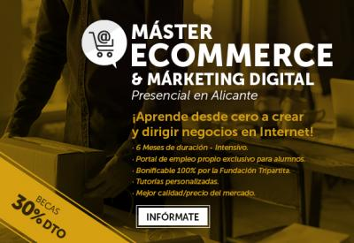 Máster de Marketing Digital en Alicante