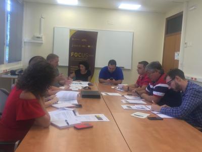 Reunión grupo de trabajo tecnología