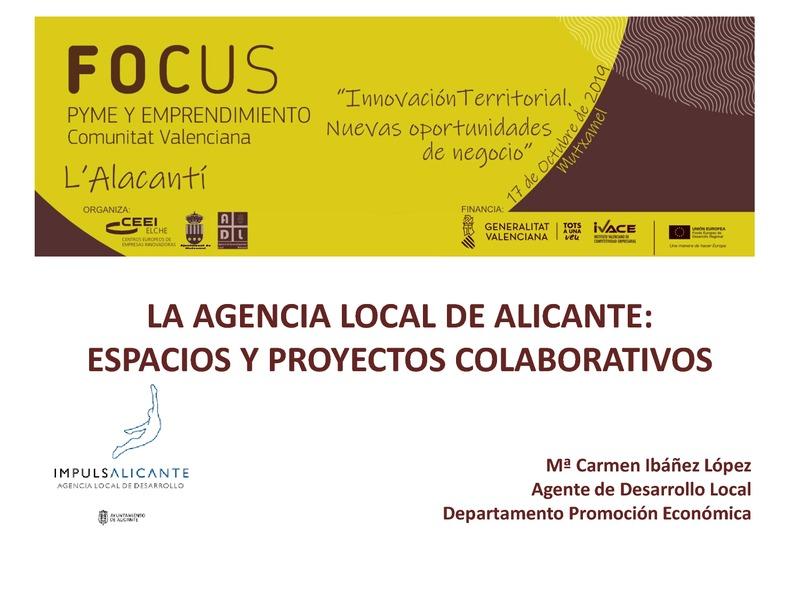 La Agencia Local de Alicante: Espacios y Proyectos Colaborativos
