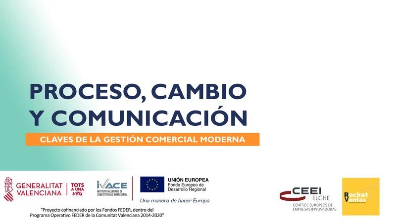Proceso, Cambio y Comunicación. Claves de la gestión comercial moderna