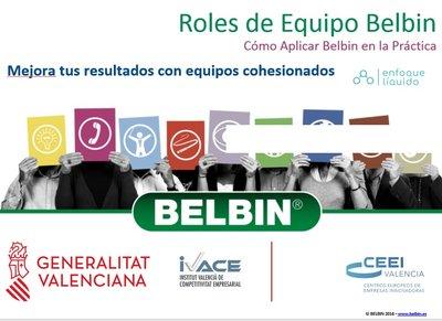 Ponencia: Mejora tus resultados con equipos cohesionados, (Roles de Equipo Belbin)