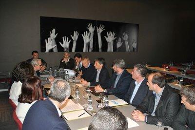 Reunión Plataforma por la Reindustrialización en Ontiyent