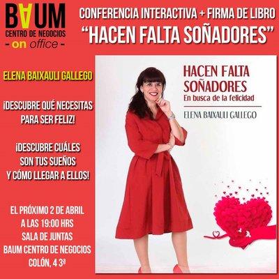 conferencia Elena Baixauli