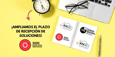 3º edición ANCES OPEN INNOVATION 2020