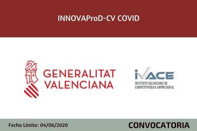 Ayudas INNOVAProD-CV Covid