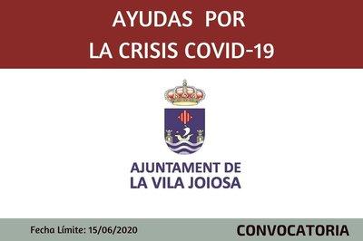 Ayudas por la Crisis sanitaria Covid-19 Ayuntamiento de Villajoyosa