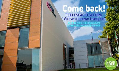 CEEI Castellón garantiza el retorno más seguro a las empresas de su vivero. Welcome!