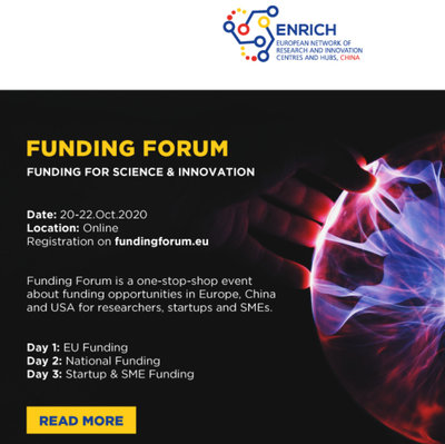 Foro de Financiación - Financiación para Ciencia e Innovación por Enrich en China