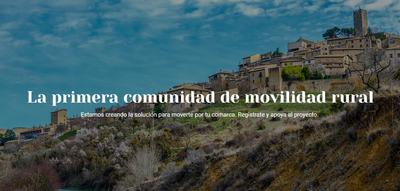 La primera comunidad de movilidad rural