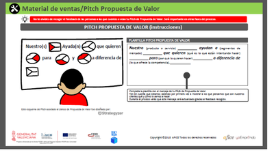 Pitch propuesta de valor