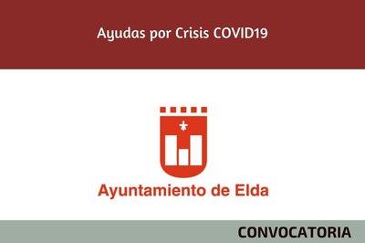 Ayudas por la Crisis del Covid19 convocadas por el Ayuntamiento de Elda e IDELSA