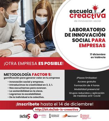 Laboratorio de innovación social para empresas