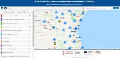 Mapa de Agentes, Valencia