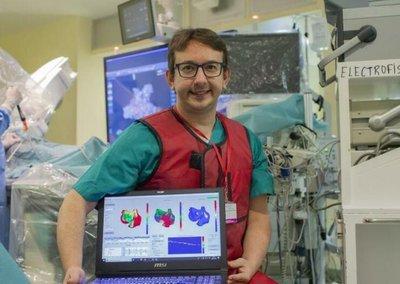 Andreu Climent, profesor asociado de la Universidad Politécnica de Valencia (UPV) y CEO de Corify Care