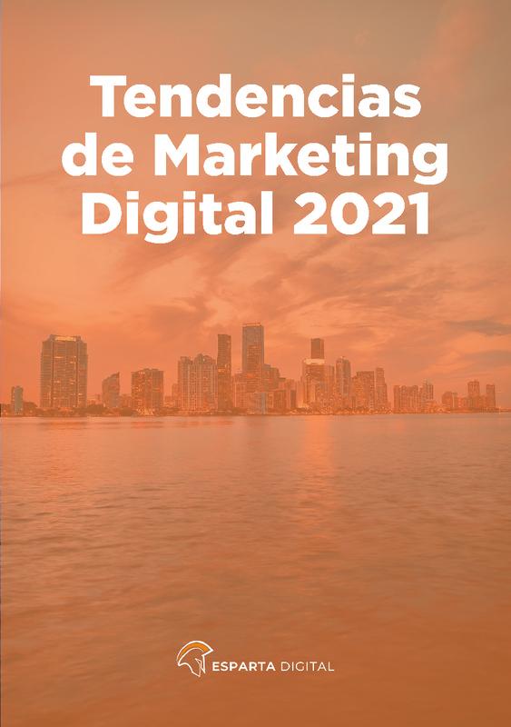"""E-book Esparta Digital """" Tendencias marketing digital para 2021 """""""