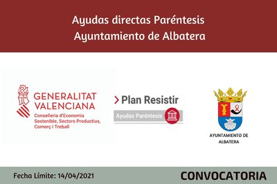 Ayudas Económicas Covid 19 - Ayuntamiento de Albatera