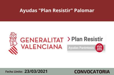 """Ayudas """"Plan Resistir"""" en el Palomar"""