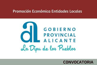 La Diputación de Alicante convoca ayudas para el impulso del desarrollo local
