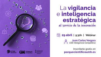 La vigilancia e inteligencia estratégica al servicio de la innovación