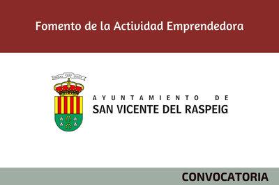 Fomento de la Actividad Emprendedora Ayuntamiento Sant Vicent del Raspeig